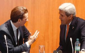 การพบปะกับรัฐมนตรีกระทรวงการต่างประเทศของสหรัฐอเมริกา