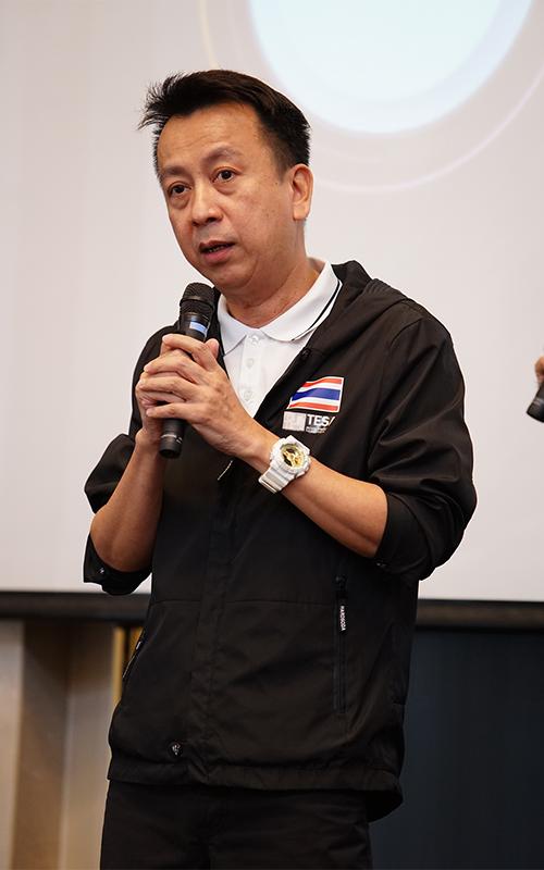 สันติ โหลทอง นายกสมาคมกีฬาอีสปอร์ตแห่งประเทศไทย