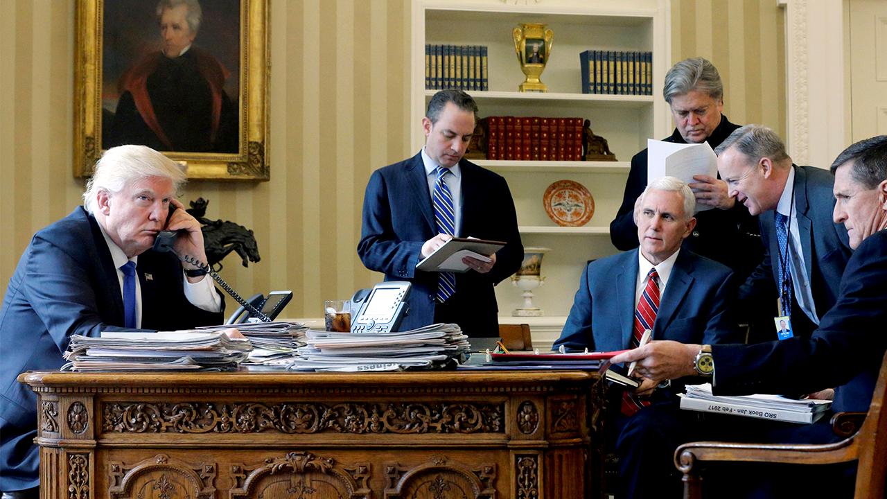 ชั่วโมงทำงานของประธานาธิบดีแห่งสหรัฐอเมริกา
