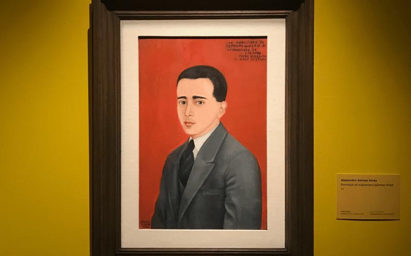 ภาพพอร์ตเทรตของ 'อเล็กซ์' ที่ฟรีดาวาดไว้เมื่อปี 1928