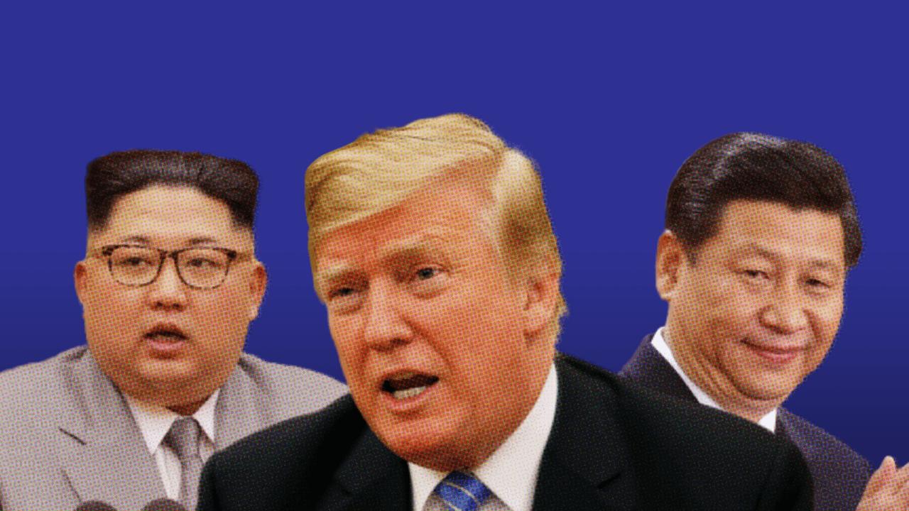 จับตา 'อเมริกา' ปี 2019 กับการงัดข้อสองคู่ปรับ จีน - เกาหลีเหนือ