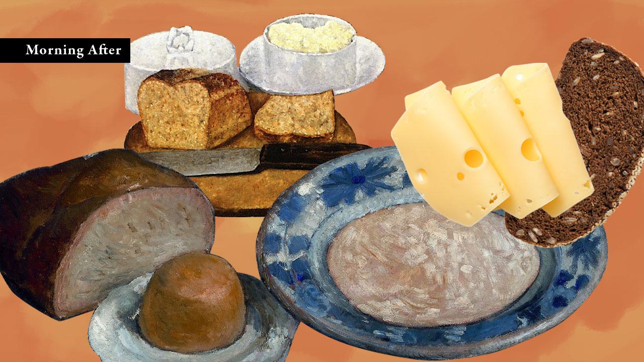 ขนมปังในฐานะอาหารเช้า เขากินกันมาตั้งแต่สมัยกรีก