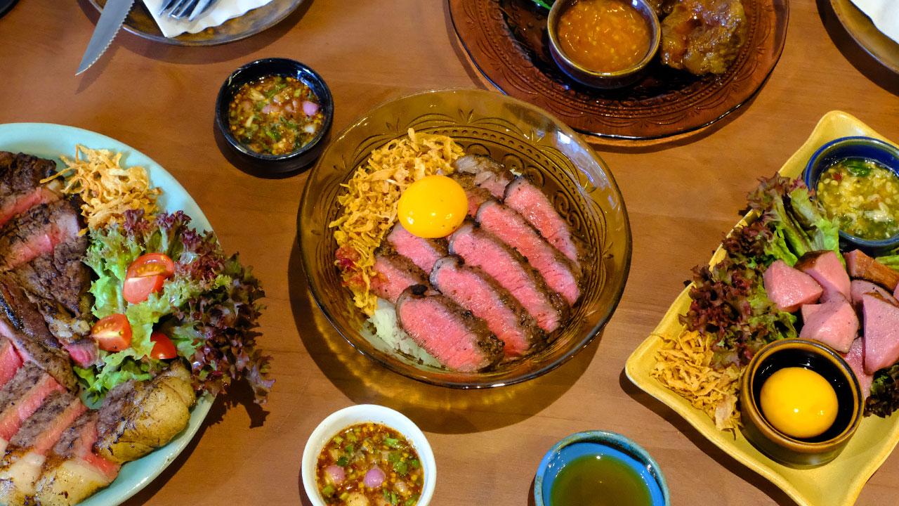 มหาสาร ร้านเนื้อที่อยากบอกว่าเนื้อไทยไม่ใช่มวยรอง