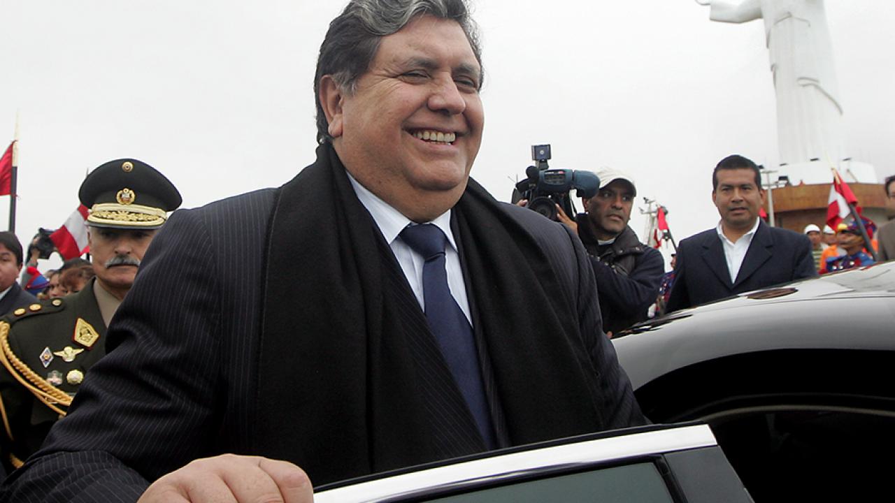 อลัน การ์เซีย อดีตประธานาธิบดีเปรู ยิงตัวตาย ไม่ยอมให้ตำรวจจับ หลังโดนข้อหาติดสินบน